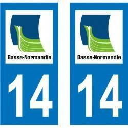 Sticker Plaque 14 Calvados