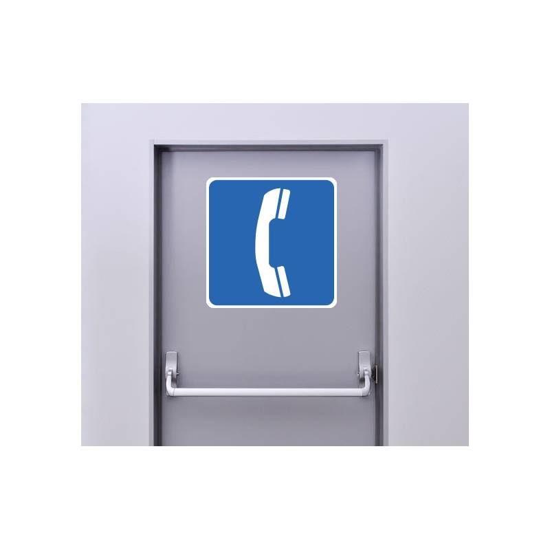 Autocollant Panneau Cabine Téléphonique