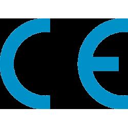 Autocollant Signalisation Panneau Norme CE - 8