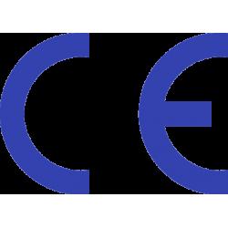 Autocollant Signalisation Panneau Norme CE - 9