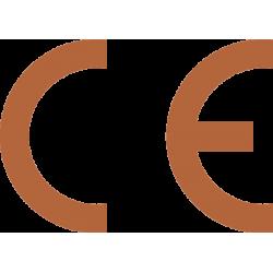 Autocollant Signalisation Panneau Norme CE - 12