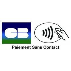 Sticker Panneau Paiement Sans Contact NFC Carte Bleu