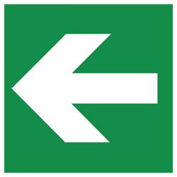 Sticker Panneau Flèche Directionnelle (Droite & Gauche)