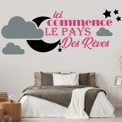 stickers muraux adh sifs de d coration zone stickers. Black Bedroom Furniture Sets. Home Design Ideas