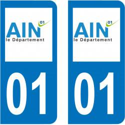 Sticker Plaque 01 Ain