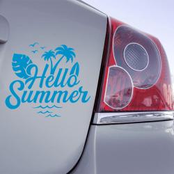 Autocollant Hello Summer - 1