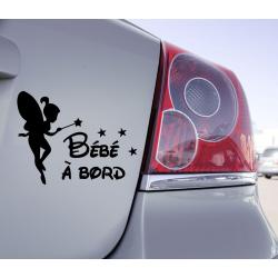 Sticker Bébé à Bord Féé...
