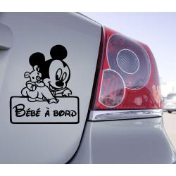 Sticker Bébé à Bord Mini Mikey