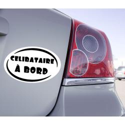Sticker Célibataire à Bord - 1