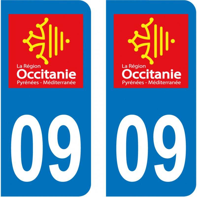 Sticker Plaque 09 Ariège