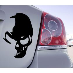 Sticker Voiture Skull