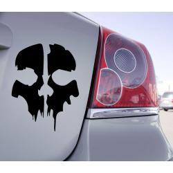 Sticker Skull Call Of Duty