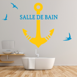 Plaquette de Mini Stickers Alarme Site Securise Home Fond Transparent