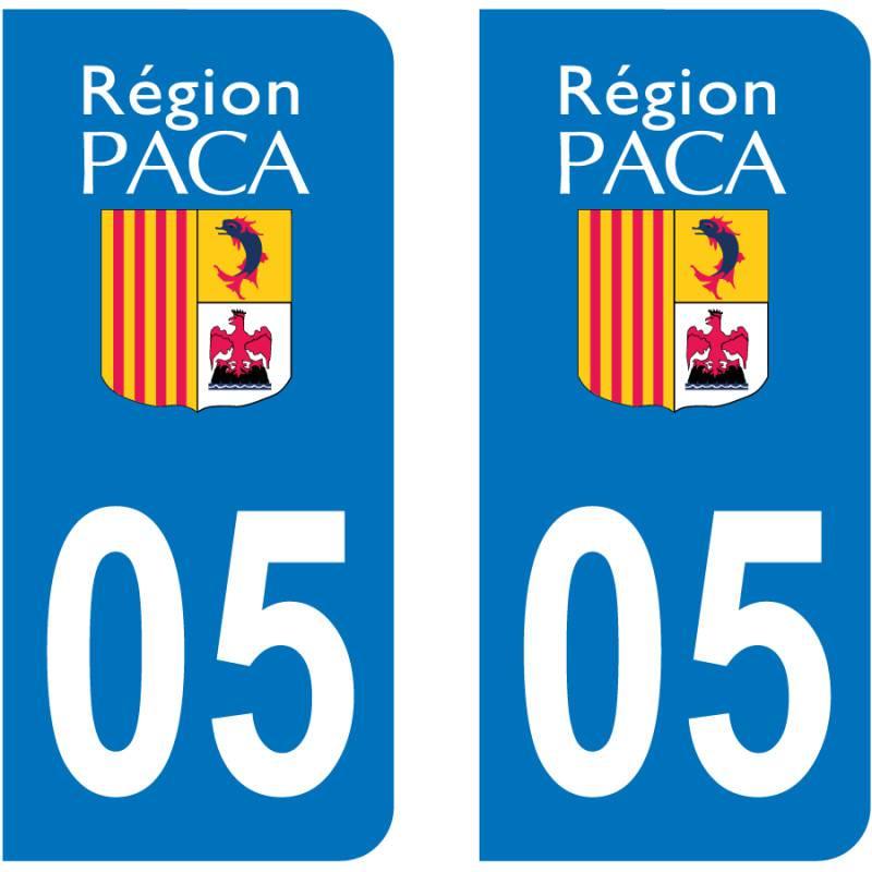 Sticker Plaque 05 Hautes Alpes