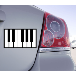 Sticker Clavier Piano