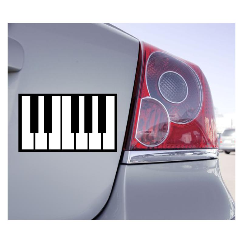 Sticker Clavier Piano - 1
