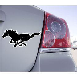 Sticker Cheval Au Galop
