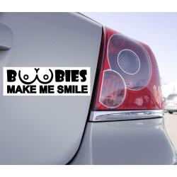 Sticker Boobies Make Me Smile - 1