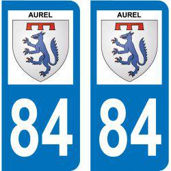 Sticker Plaque Aurel 84390
