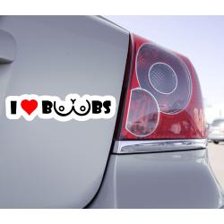 Sticker I Love Boobs - 1