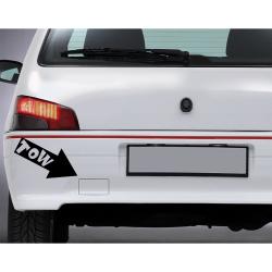 Sticker Rallye Fleches De...
