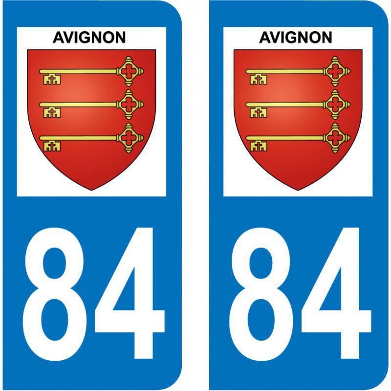 Sticker Plaque Avignon 84000