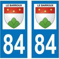 Sticker Plaque Le Barroux 84330