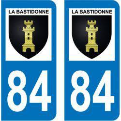 Sticker Plaque La Bastidonne 84120