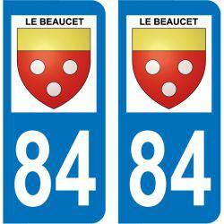 Sticker Plaque Le Beaucet 84210