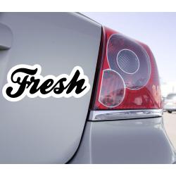 Sticker Fresh