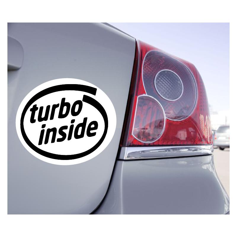 Sticker Turbo Inside - 1
