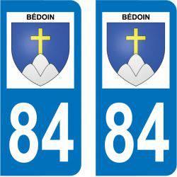 Sticker Plaque Bédoin 84410