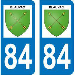 Sticker Plaque Blauvac 84570