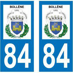 Sticker Plaque Bollène 84500