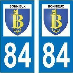 Sticker Plaque Bonnieux 84480