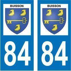 Sticker Plaque Buisson 84110