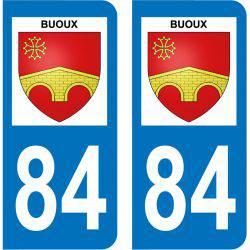 Sticker Plaque Buoux 84480