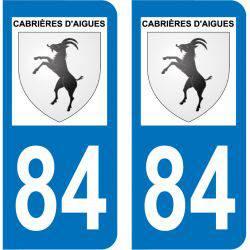 Sticker Plaque Cabrières-d'Aigues 84240