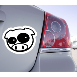 Sticker Cochon Pig JDM - 1