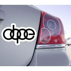 Sticker DOPE