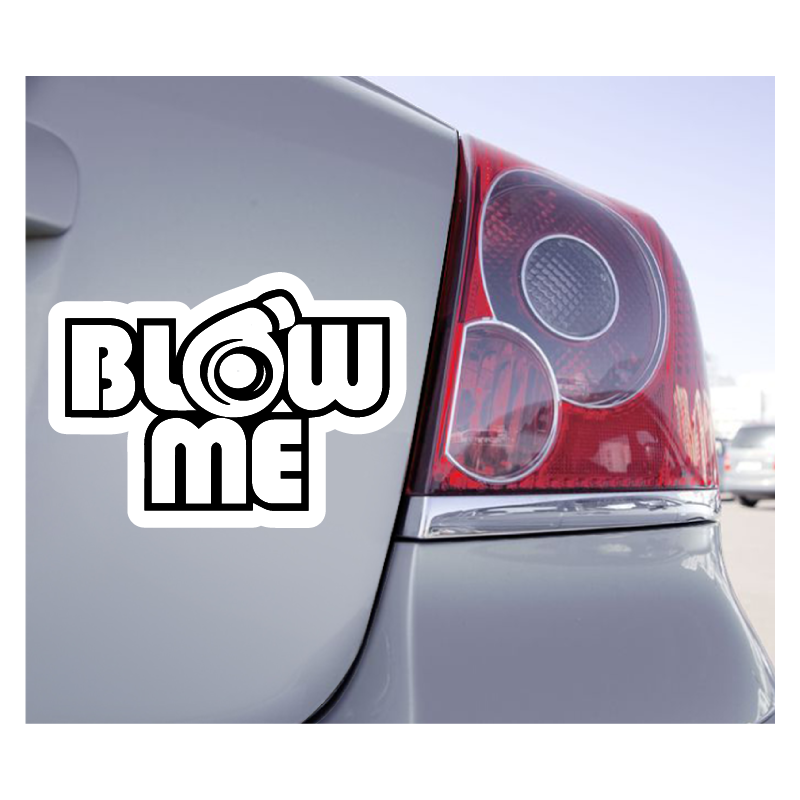Sticker Turbo Blow Me - 1