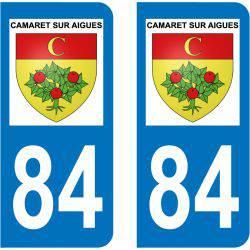 Sticker Plaque Camaret-sur-Aigues 84850