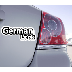 Sticker German Look