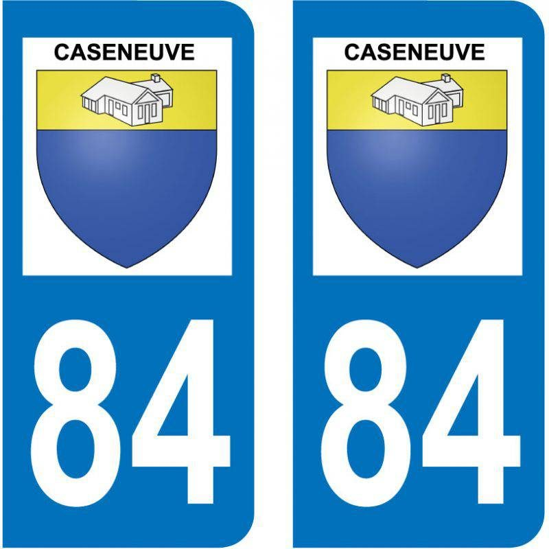 Sticker Plaque Caseneuve 84750