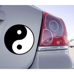 Sticker Ying-Yang Zen
