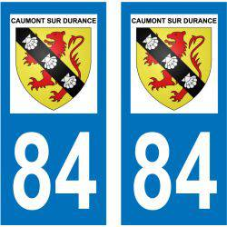 Sticker Plaque Caumont-sur-Durance 84510