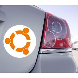 Sticker Ubuntu Linux