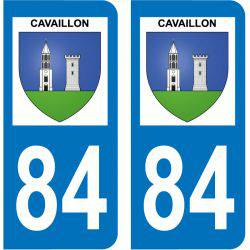 Sticker Plaque Cavaillon 84300