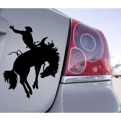 Sticker Cowboy Rodéo