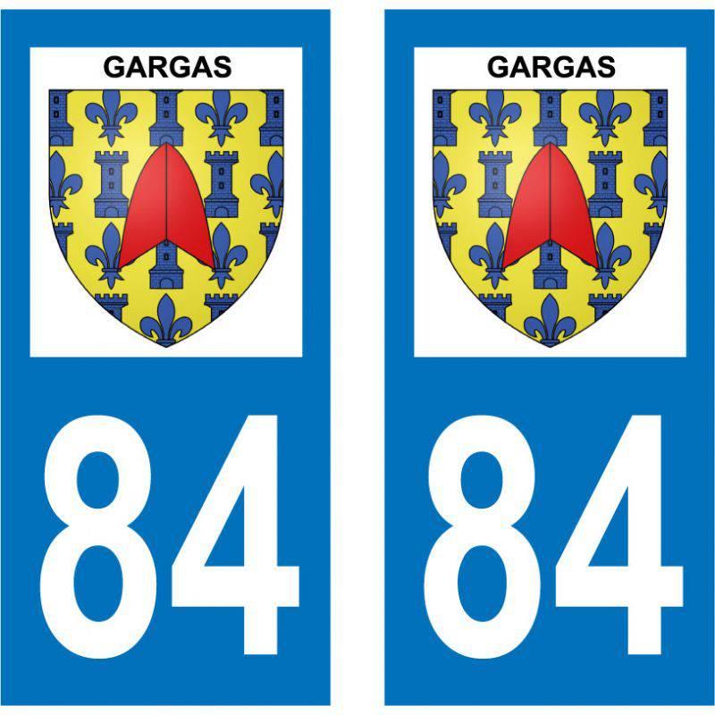 Sticker Plaque Gargas 84400